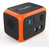 PowerOak PS6 Batterie Externe 220V Solaire Haute capacité 500WH- Batterie Externe 300W 220V AC/DC/Solaire- Batterie 220V Recharge sans Fil Smartphone pour Van - Camping-Car - Bricolage - Jardinage
