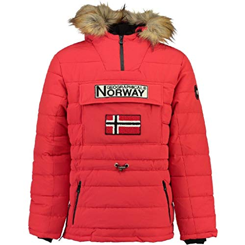 Geographical Norway Parka hombre CASIMODO color ROJO talla L