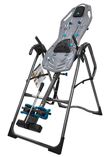 Buy Bargain Teeter FitSpine X3 Inversion Table, 2019 Model, Deluxe Easy-to-Reach Ankle Lock, Back Pa...