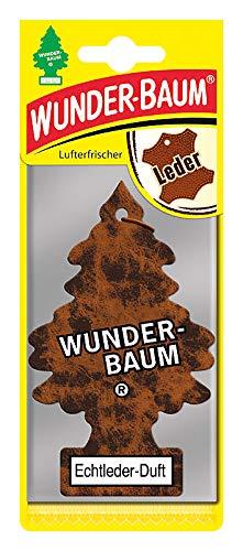 Wunderbaum 78327 Lufterfrischer, 1er Karte, Braun