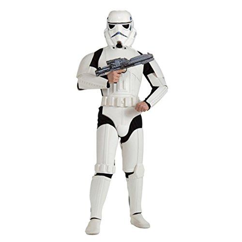 Star Wars Kostüm Stormtrooper M/L 48/52 Starwars Storm Trooper Sturmtruppler Outfit Verkleidung Herren Männer