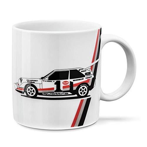 Audi Original Heritage Tasse, weiß, 3291800600