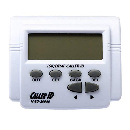 Caller ID Display Unit (Wall Mountable Option) SID01-S