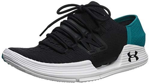 Under Armour Men's Speedform AMP 3 Sneaker, Black (006)/Dust, 10 M US