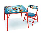 Mickey Mouse Jr. Activity Table Set with 1 Chair