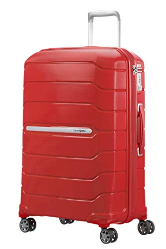 SAMSONITE Flux - Spinner Koffer, 68 cm, 95 Liter, Red