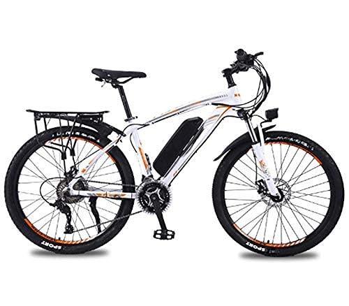 WXDP Semovente Mountain Bike elettrica, Bicicletta elettrica da Città da 26 '' per Adulti con Batteria Rimovibile 36V 8Ah / 10Ah / 13 Ah agli ioni di Litio Cambio a 27 velocità Telaio in Lega di