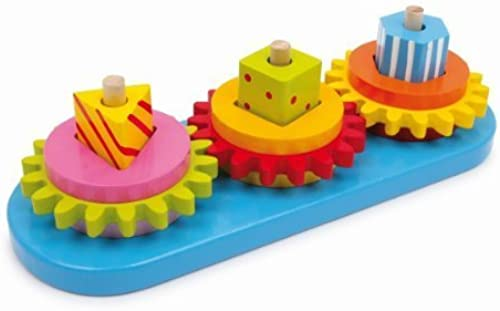 Legler Motor Activity Plug Game Gears Preschool Learning Toy by Legler