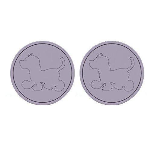 Noukie's - Poignées contemporaines Arthur pour commode ou armoire(lot de 2) - Violet