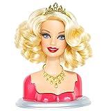 Barbie–t9124–Accesorio para muñecas Fashionista–-Tete extraíble Mix & Estilo–Glam