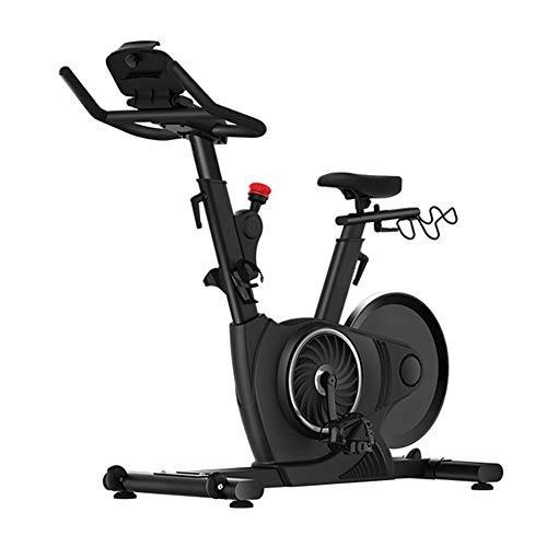 Bicicleta Estática De Spinning Fitness, Volante De Control Magnético Bidireccional De 15 Kg, Resistencia De Control Magnético De 32 Engranajes, Ajuste De Múltiples Posiciones, Soporte Para Ipad