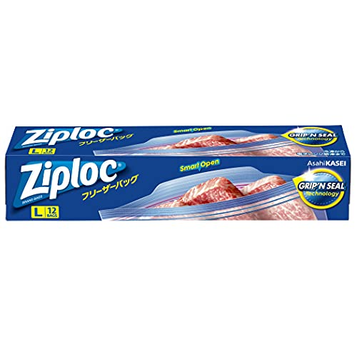Ziploc フリーザーパック 大 12枚入