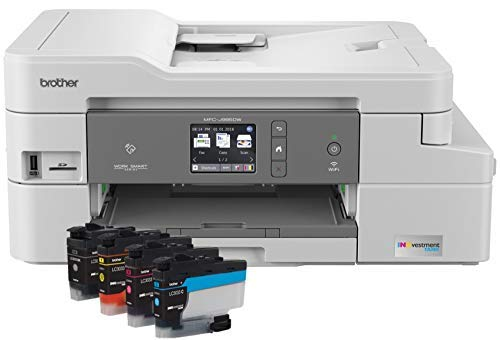 Best Bargain Brother Inkjet Printer, MFC-J995DW, Mobile Printing, Duplex Printing, Up to 1-Year of P...
