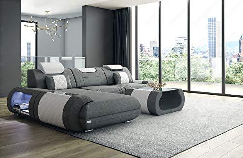 Sofa Dreams stoffen sofa Rimini als moderne hoekbank in de L-vorm