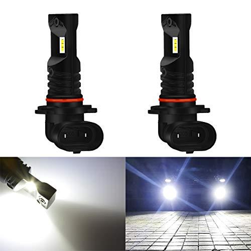 KaTur H7 Ampoules LED antibrouillard 3 Faces Shinning 3570 puces Canbus /à remplacer pour la Conduite de Feux de Jour DRL ou Feux de Brouillard 6000K Xenon White 2 Ans de Garantie
