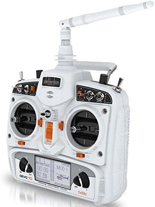 DRONESHOP Walkera Devention DEVO 10 2.4GHz 10ch Telemetry RC Transmitter