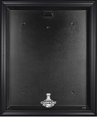 St. Louis Blues 2019 Stanley Cup Champions Black Framed Jersey Display Case - Hockey Jersey Logo Display Cases