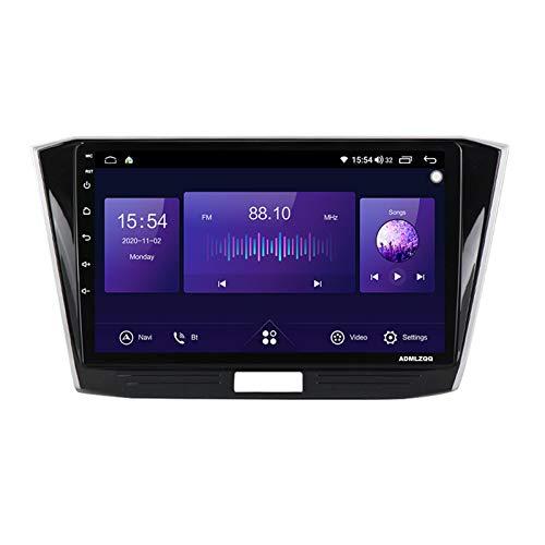 ADMLZQQ 9 Pulgadas Android 10.0 Auto Radio Car Stereo Radio para VW Passat B8 2015-2018, Navegación GPS/Bluetooth/FM/RDS/Control del Volante/Cámara Trasera / 4G + WiFi,7862 (8core 4+64g)
