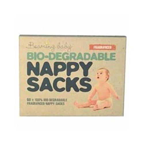 Beaming Baby bolsas para pañales biodegradables con fragancia 60s funda (de 10)