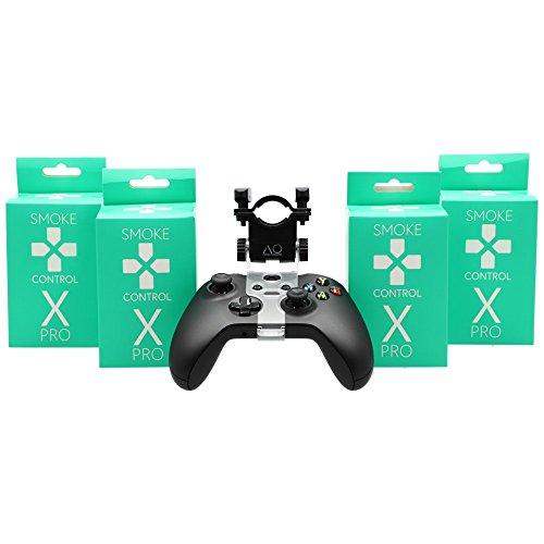 AO® Smoke Control X-Pro Shisha Mundstück für Xbox Controller - Set Mit Micro USB Kabel - Perfektes Shisha Zubehör Für Gamer - Besonders Starker Halt