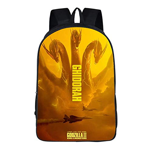 Godzilla School Backpack King of the Monsters Cosutme Cosplay Backpack School Bag