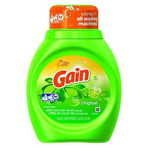 Gifts GAIN 25 oz. Bottle Original Detergent Liquid Scent All items in the store Laundry
