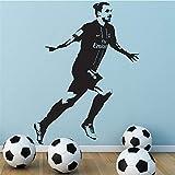 Wandaufkleber Kinderzimmer Sport Dekor Fußball Wandtattoo