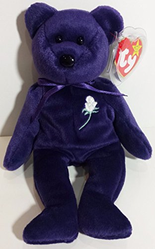 Ty Beanie Baby ~ PRINCESS the (Diana) Bear from 1997 ~ RARE & RETIRED! MINT!!! .HN#GG_634T6344 G134548TY35710