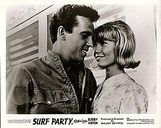 SURF Party Original Lobby Card Bobby Vinton Patricia Morrow 1964 Surfing Movie