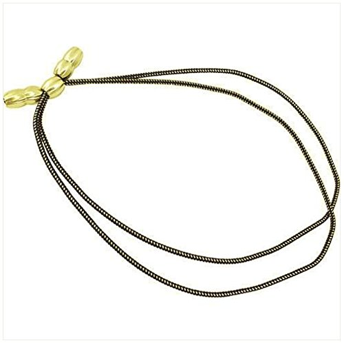 Vanguard Army HAT Cord: Officer - Gold and Black with Gold Acorns