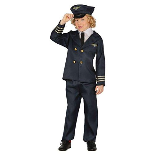 Guirca Rudy Disfraz piloto Aviones, Color Azul, 81383