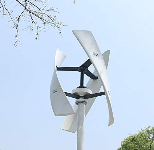 TQ 300W / 500W Windenergie-Turbine-Generator CE Maglev Hocheffiziente Noiseless Vertikale Achse Windmil Solar Wind Hybird-System,300w,24v