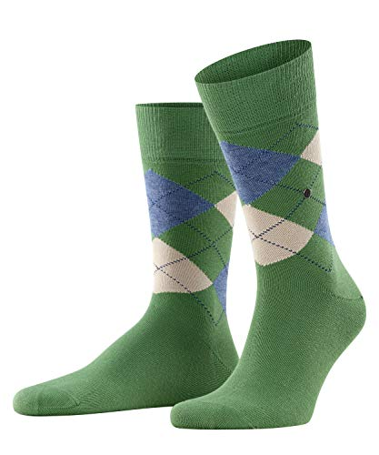 Burlington Herren King M SO Socken,grün (khaki green 7746), 40-46
