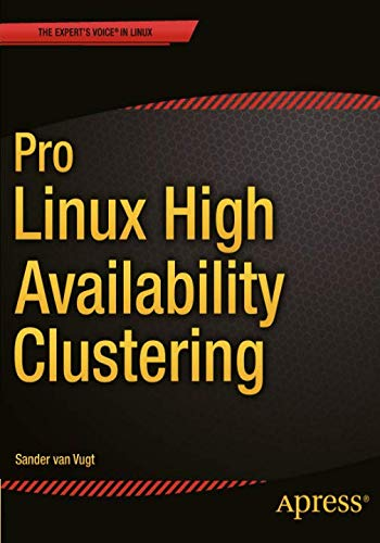 Download Pro Linux High Availability Clustering 1484200802