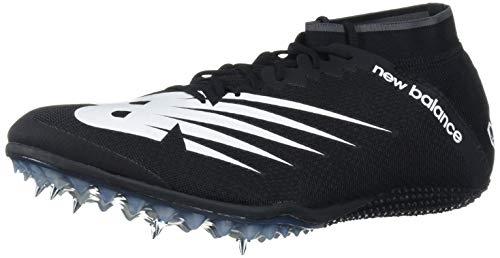 New Balance Men's Sprint 100 V3 Spike Running Shoe, Black/White, 10.5 M US
