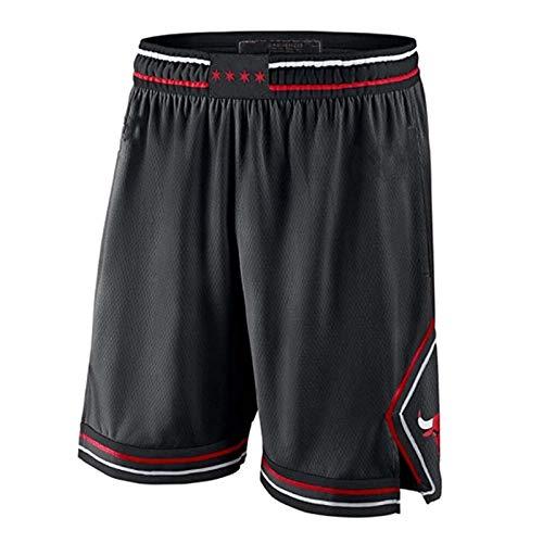 Hombres Mujeres Pantalones cortos de baloncesto Lakers Kobe Bryant Bulls Pantalones cortos de baloncesto Transpirable Miami Heat Jersey Ventiladores Pantalones cortos de entrenamiento de partidarios