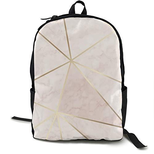 Leichter Rucksack, faltbar, ultraleicht, verstaubarer Rucksack, Zara Schimmer, metallisch, weich, rosa, gold, Unisex, langlebig, handlich, Tagesrucksack für Reisen und Outdoor-Sportarten