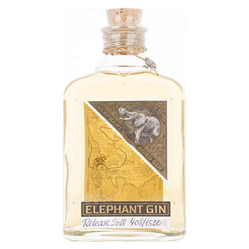 Elephant Aged Gin Vintage Limited Edition 52,00% 0,50 Liter