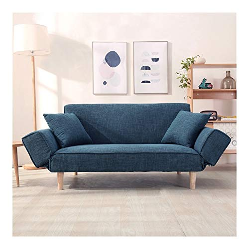ZSEFV Nordic High-end Folding Sofa Bed, Easily Assemble Couch, Couch Beds for Bedrooms (Color : C)