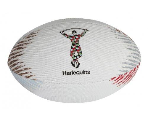 GILBERT Ballon de Beach Rugby des Harlequins