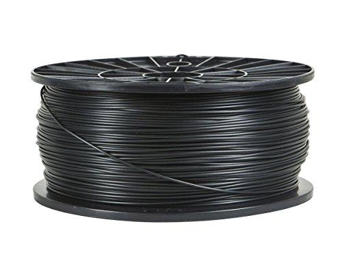Monoprice - 110551 PLA 3D Printer Filament - Black - 1kg Spool, 1.75mm Thick     For All PLA Compatible Printers