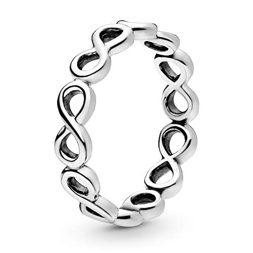 PANDORA Infinite Shine Ring, Sterling Silver,...
