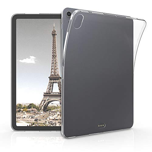 kwmobile Hülle kompatibel mit Apple iPad Air 4 (2020) - Silikon Tablet Cover Case Schutzhülle Transparent