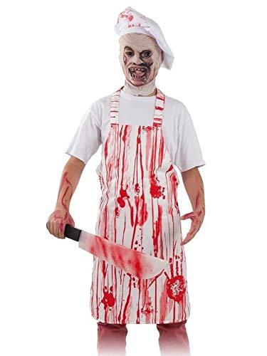 DISBACANAL Disfraz Cocinero Halloween para nios - -, 6 aos