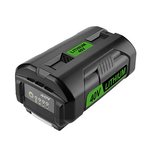 Powilling OP4050A 40V 5.0Ah Lithium-Ion Battery for Ryobi 40-Volt Collection Cordless Power Tools Li-ion Battery OP4015 OP4026 OP40201 OP40261 OP4030 OP40301 OP4040 OP40401 OP4050 OP40501 OP40601