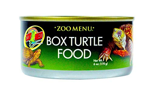 Zoo Med Box Turtle Food (6 Pack of 6 oz)