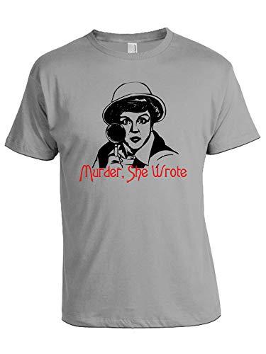 Tshirt La Signora in Giallo - Murder She Wrote - Anni 80 - Jessica Fletcher - Serie TV