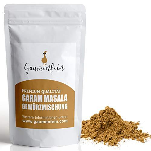 GAUMENFEIN® Garam Masala Pulver - Indische Gewürzmischung - 100% natürliche Premium Qualität - 250g