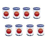 Mscomft Cartuchos de filtro de repuesto para Bestway 58094, filtro de piscina reutilizable,accesorios para filtros de piscina,filtros de cartucho (8 unidades)