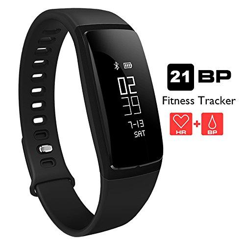 Cinturino smart di ricambio per orologi fitness Aupalla 21BP / Aupalla 21BPP, Black